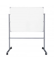 Mooreco Essentials Painted Steel 4' x 3' Magnetic Reversible Mobile Whiteboard