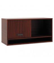 "Basyx Manage 36"" Laminate Overhead Storage Cabinet, Chestnut"
