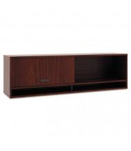"Basyx Manage 60"" Laminate Overhead Storage Cabinet, Chestnut"