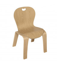 "Wood Designs Maple Heritage's Bentwood 12"" H Classroom Chair"