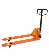 "Mighty Lift ML2748L 3300 lb Load Low Profile Pallet Jack, 27""W x 48""L"