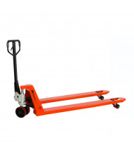 "Mighty Lift ML2772 3300 lb Load Long Fork Pallet Jack, 27""W x 72""L"