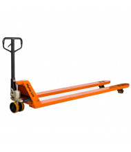 "Mighty Lift ML2796-44 4400 lb Load Long Fork Pallet Jack, 27""W x 96""L"