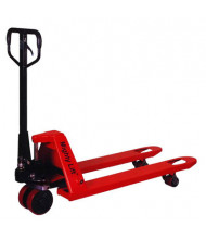 "Mighty Lift ML55HB 5500 lb Load Pallet Jack with Hand Brake, 27""W x 48""L"