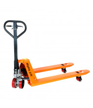 """Mighty Lift ML55HB 5500 lb Load Pallet Jack with Hand Brake, 27""""W x 48""""L"""
