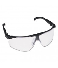 3M Maxim Protective Eyewear, Teal Frame/Clear Lens, Anti-Fog/Scratch Coat,20/Pack