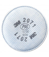 3M 2000 Series P95 Particulate Filter, 2/Pack