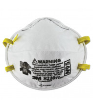 3M Particulate Respirator 8210Plus, N95, 20/Pack