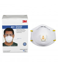 3M Particulate Respirator with Cool Flow Exhalation Valve, 10-Pack
