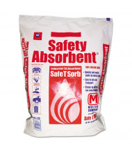 Safe T Sorb 50 lbs. All-Purpose Clay Absorbent, Poly-Bag, 40/Pack
