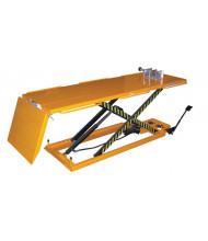 "Vestil MOTO-LIFT-1100 Manual Hydraulic Motorcycle Lift 1100 lb Load 26.75"" x 65"""