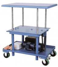 Vestil DC Powered Low Profile 2000 lb Load Post Tables