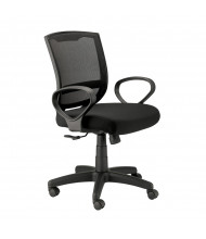 Eurotech Maze MT3000 Loop-Arm Mesh-Back Fabric Mid-Back Task Chair
