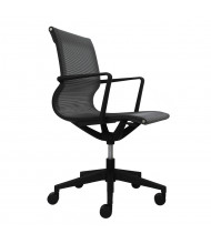 Eurotech Kinetic Mesh Mid-Back Task Chair (Shown in Black)