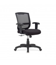 Eurotech Max MT4500 Mesh-Back Fabric Low-Back Task Chair