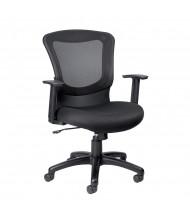 Eurotech Marlin MT7500 Mesh-Back Fabric Mid-Back Task Chair