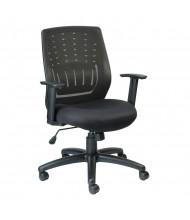 Eurotech Stingray MT8500 Mesh-Back Fabric Mid-Back Task Chair