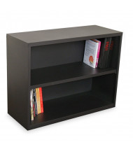 Marvel Ensemble MSBC236 2-Shelf Steel Bookcase (Shown in Dark Neutral)