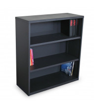 Marvel Ensemble MSBC336 3-Shelf Steel Bookcase (Shown in Dark Neutral)