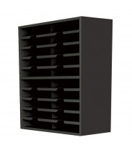 "Marvel 24"" W 20-Compartment Steel Mail Sorter (Shown In Black)"