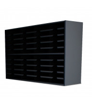 "Marvel 48"" W 40-Compartment Steel Mail Sorter (Shown In Black)"