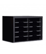 "Marvel 24"" W 10-Compartment Adjustable Shelf Steel Mail Sorter (Shown In Black)"