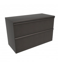 "Marvel Zapf ZSLF242 2-Drawer 42"" W Lateral File, Letter & Legal (Shown In Dark Neutral)"