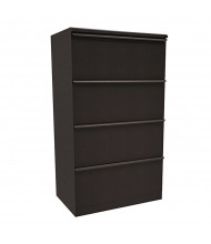 "Marvel Zapf ZSLF430 4-Drawer 30"" W Lateral File, Letter & Legal (Shown In Dark Neutral)"