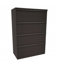 "Marvel Zapf ZSLF436 4-Drawer 36"" W Lateral File, Letter & Legal (Shown In Dark Neutral)"