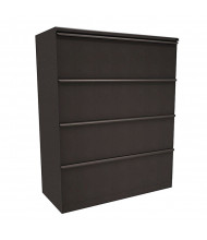 "Marvel Zapf ZSLF442 4-Drawer 42"" W Lateral File, Letter & Legal (Shown In Dark Neutral)"
