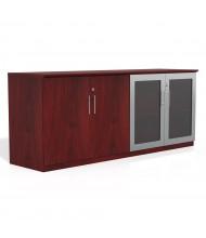 "Mayline Medina MVLC 72"" Low Wall Cabinet (Shown in Mahogany)"