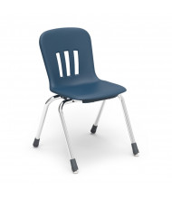 "Virco Metaphor 16-1/2"" Seat Height 4-Leg Stacking School Chair"