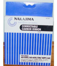 Nakajima NAKXC001 Correctable black ribbons