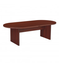Office Star Napa NAP-36 8 ft Racetrack Conference Table (Shown in Mahogany)