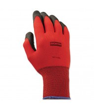 North Safety NorthFlex 9L Foamed PVC Gloves, Red/Black, 12 Pairs