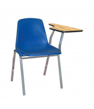 "NPS 11"" x 23"" Tablet Arm Student Chair Desk, Left-Hand (Shown in Blue)"