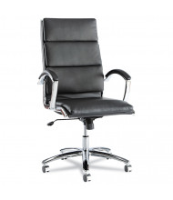Alera Neratoli NR41 Slim Profile Leather High-Back Executive Office Chair (Shown in Black)