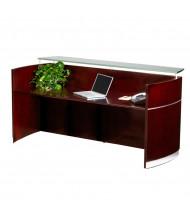 "Mayline Napoli NRS 87"" W Reception Desk (Shown in Sierra Cherry)"