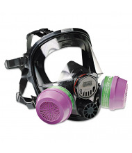 North Safety 7600 Series Full-Facepiece Respirator Mask, Medium/Large