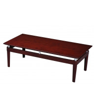 "Mayline Napoli NTR 48"" W Coffee Table (Shown in Sierra Cherry)"