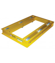 "Vestil ODMD-3660-10 Open-Deck 10,000 lb. 36"" x 60"" Machinery Dolly"