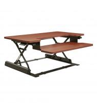 Office Star Napa NAP3529 Sit-Stand Converter Desk Riser (Shown in Cherry)