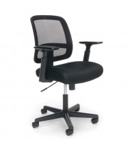 OFM Essentials E3035 Mesh-Back Fabric Mid-Back Task Chair