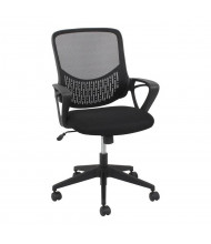 OFM Essentials ESS-100 Mesh-Back Fabric Mid-Back Task Chair