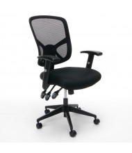OFM Essentials ESS-3050 Mesh-Back Fabric High-Back Task Chair