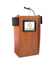 Oklahoma Sound Vision LCD Screen Wireless Sound System Lectern