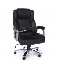 OFM ORO200 Big & Tall 400 lb. Leather High-Back Executive Office Chair (tablet up)