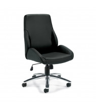 Offices to Go OTG11786B Luxhide Mid-Back Computer Office Chair