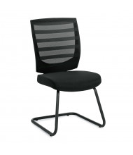 Offices to Go Armless Mesh Mid-Back Guest Chair