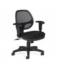 Offices to Go OTG11647B Mesh Mid-Back Managers Chair